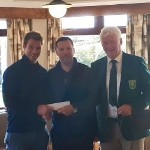 Presentation of Prize by BDM Boylan Solicitors at Dooks Golf Club